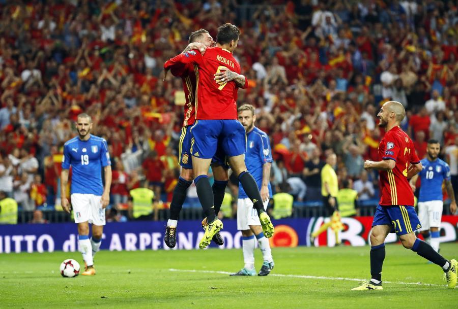 Morata strzela także w reprezentacji Hiszpanii